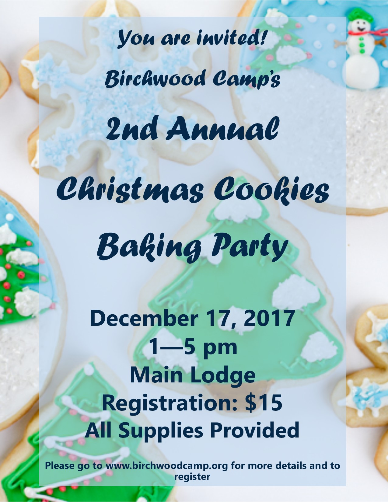 2017 Christmas Cookies Baking Party