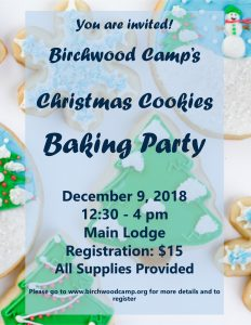 2018 Christmas Cookies Baking Party