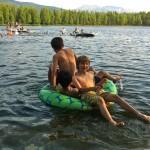 Swimming at Faith Adventure